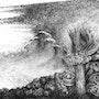 Vague and fire imaginary. Daniel Courgeau