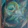 Monstre marin dévorant l'espace. Daniel Courgeau