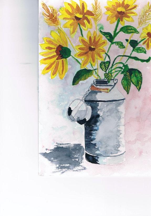 Lifes Wildblumen.  Elyane Renout