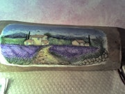 Little house in the hollow of lavender.