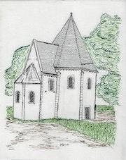 Chapel of the Templars of Metz - Moselle.