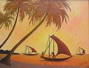 Pêcheurs de Negombo - Sri Lanka.