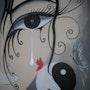 Le papillon rouge. Linda Guillou «Ti. Songe»
