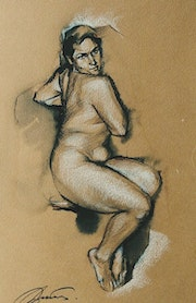 Nude. Series «a few small drawings..