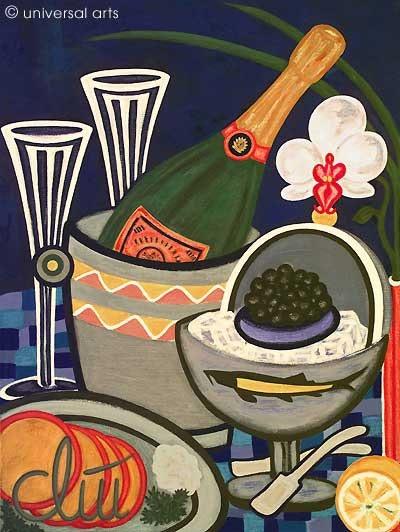 Brut Impérial Magnum - Peinture originale - Jacqueline_Ditt. Jacqueline Ditt Universal Arts Galerie Studio Gmbh