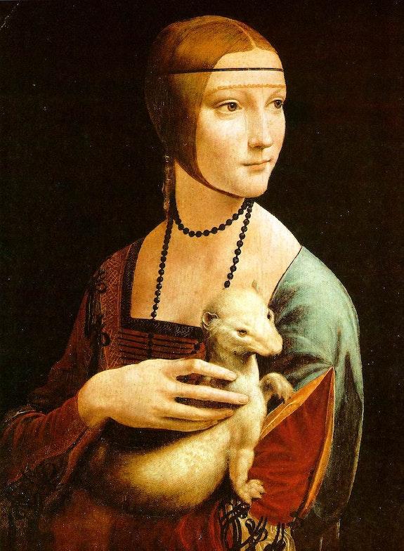 La dama del armiño. Maitre Leonard De Vinci Virtuoso