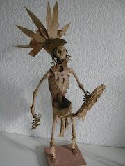 Mexica, azteca caballero águila, esqueleto. Trancetic