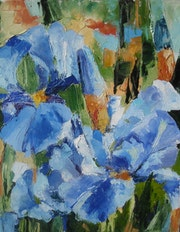 El iris azul.