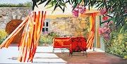 Colours of the South », einem der Düfte des Sommers Mischung, Ruhe und Licht. Bastide Creations
