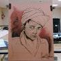 Jungen Afghanen. Forangeart F. Baldinotti Peintre De l'air