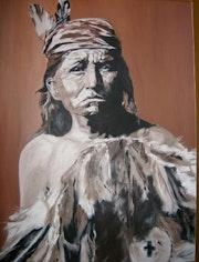 Guerrier apache.