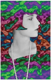 Portrait pop art Louise Brooks 2 «Loulou».