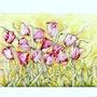 Bailando Tulipanes. Janis Artino