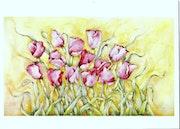 Bailando Tulipanes.