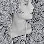 Pop Art Retrato Louise Brooks «Una niña perdida». Maxbymax