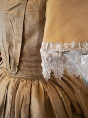 Dress fashion taffeta 1840. Villa Rosemaine