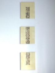 Triptych Zen Beige.