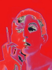Pop Art Portrait Serge Gainsbourg «Love».