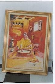 Moroccan Couscous. El Moujaouid