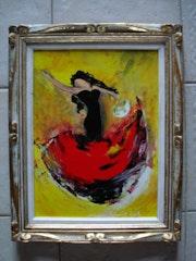 La danseuse de Flamenco.