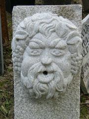 Bacchus fountain granite. Gregory Collin