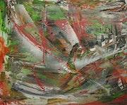 Ô vietnam, acrylique, aérosols, art graphique..