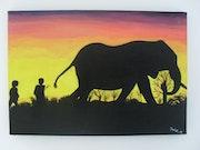 El Maestro de los Elefantes. Mickael Godet