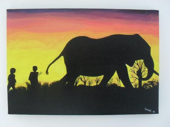 El Maestro de los Elefantes. Mickael Godet Mickael Godet