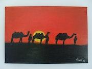 Walk in the Desert. Mickael Godet