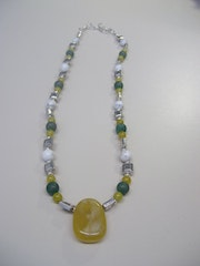 Down under, necklace, inspired by the football World Cup 2010.