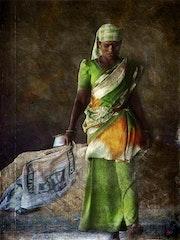 Trabajadores ... En la India. . La Cie Des Voyageurs/ D. Almon