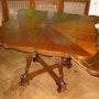 Sehr seltener antiker Spieltisch aus Südeutschland um 1840-1870. Heike