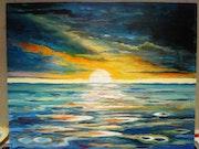 """Confluencia de Mar y Cielo """" . Cornelia Kervink Ck."""