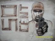 """""""50 Cent im Besitz einer Pistole"""" . Emma"""
