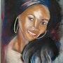 Girl from Abidjan. Michel Torsiello