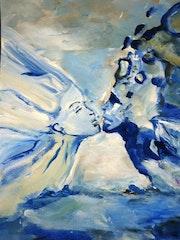 Ensemble dans cet infini bleu. Myriam Volia