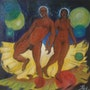 The couple esoteric. Jean-Louis Halley
