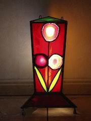 Lampe d'ambiance petit modèle 3 cotés no1. Delyres