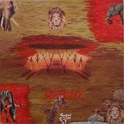 Peinture Acrylique Afrique sauvage .