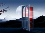 Est-ce différent derriere la porte?.