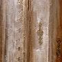 La puerta de la pintura occidental, esculpida en yeso natural. Francoise Gerlache