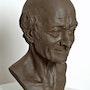 Voltaire 2007 . Laurent Mallamaci Sculpteur