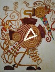 Gallo en Movimiento . Francois Nicolaï