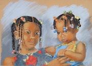 Kinder in der Dominikanischen Republik,. Jany