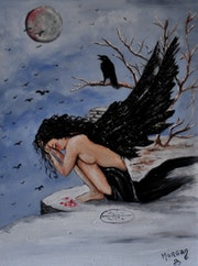 Dark Angel - el ángel negro .