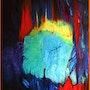 Pandora's Garden - Óleo sobre lienzo - . Arlette Le Bohec