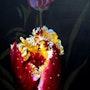 Tulipanes en la noche. Malaver