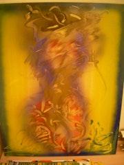 Abstrakte Malerei .