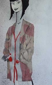 Lola Flower Jacket . Montserrat Castellano