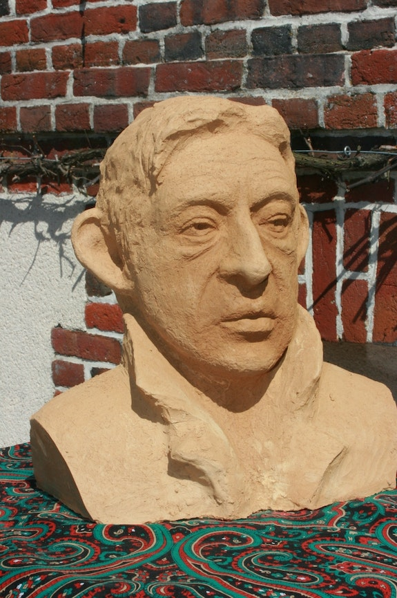 Bust Serge Gainsbourg. Satine Jean Marie Delestre